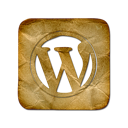 square, Logo, Wordpress Black icon