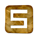spurl, Logo, square Black icon