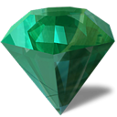 manager, theme, diamond, Emerald SeaGreen icon