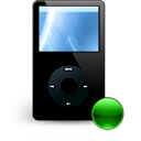 mount, Apple, ipod Black icon