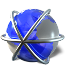 internet, pack, package RoyalBlue icon