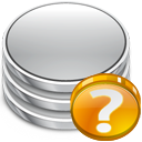 db, Status, Database Silver icon