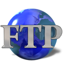 Ftp, kftpgrabber DarkGray icon