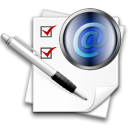 envelop, Message, mail, replylist, Letter, Email Black icon