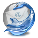 mozilla, Thunderbird Gainsboro icon