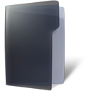 open, Folder DarkSlateGray icon