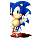 gens, Computer game, sonic MediumBlue icon