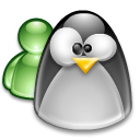 Msn, linux Silver icon