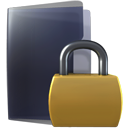 Folder, Lock, security, locked DarkSlateGray icon