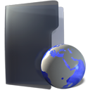 international, Folder DarkSlateGray icon