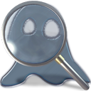 Find, seek, Kghostview, zoom, Ghost, search DarkSlateGray icon