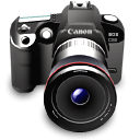 image, unmount, canon, photo, photography, picture, Camera, pic Black icon