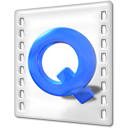 Apple, quicktime Gainsboro icon