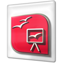 Kpresenter, Kpr Crimson icon