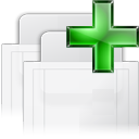 tab, new, raised WhiteSmoke icon