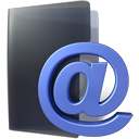 inbox, Folder DarkSlateGray icon