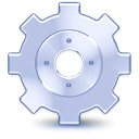 Gear, engine, kbackgammon LightSteelBlue icon