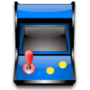 emulator, Arcade, package, Game, gaming, pack Black icon