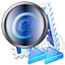 Stamp, envelop, mail, postage, Replay, Message, Email, Letter DarkSlateGray icon