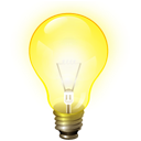 light, Energy, bulb, tip, Idea, hint, Brainstorm Yellow icon