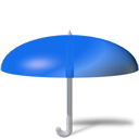 Umbrella DodgerBlue icon