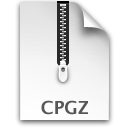 paper, File, cpgz, document, Compressed WhiteSmoke icon