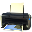 Print, printer DarkSlateGray icon