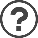 Circle, symbol, Information, question mark, interface, help DarkSlateGray icon