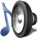 music, sound, speaker, Audacity, voice DarkSlateGray icon