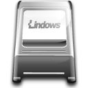 pcmcia, Computer, Laptop, Lindows Black icon