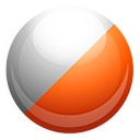 Kbounce OrangeRed icon