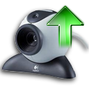 webcamera, Ascending, pic, Ascend, technology, upload, Arrow, Up, photo, Webcamsend, picture, increase, rise, image Black icon