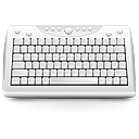 Keyboard, hardware, Kxkb LightGray icon
