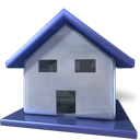 Building, Redhat, Home, homepage, house DarkSlateBlue icon