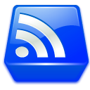 subscribe, feed, Konqsidebar, News, Rss Blue icon