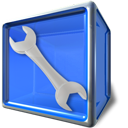 option, compizconfig, Setting, Configure, configuration, config, tool, preference, utility, Box RoyalBlue icon