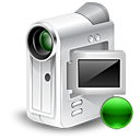 Cam, mount, Webcam, camcorder Gainsboro icon