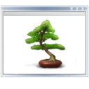 Tree, plant, view DarkGray icon