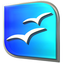 Openofficeorg DodgerBlue icon