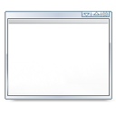 window, Kpersonalizer Snow icon