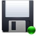 mount, Floppy, save DarkSlateGray icon