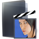 Account, video, film, people, Child, Human, profile, person, user, kid, movie, Female, member, Folder, Girl, woman, horny DarkSlateGray icon