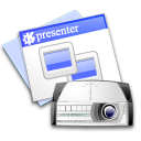 Kpresenter Black icon