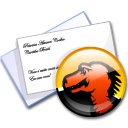 mail, mozilla, envelop, Email, Letter, Message Black icon