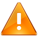 warning, exclamation, notice, Alert, Disclaimer, wrong, Error SaddleBrown icon