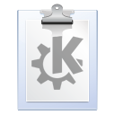 Clipboard, document, klipper, paste, paper, File WhiteSmoke icon