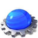 Konqueror RoyalBlue icon