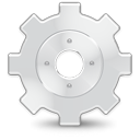 wheel, Advanced, Gear LightGray icon