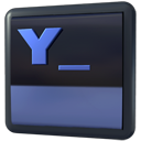 Yakuake DarkSlateGray icon