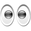 Xeyes Black icon